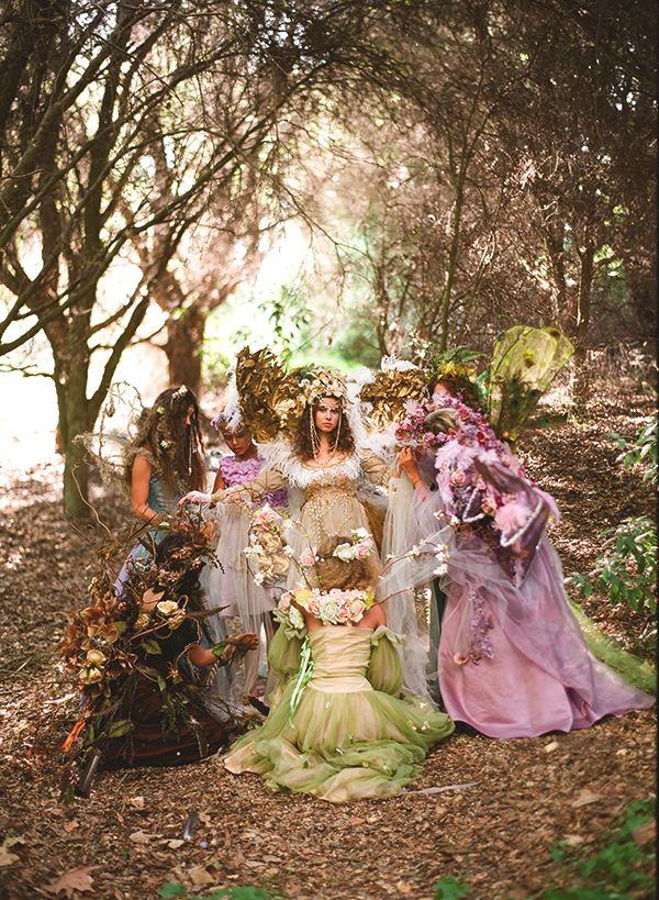 A fairy wedding spectacular