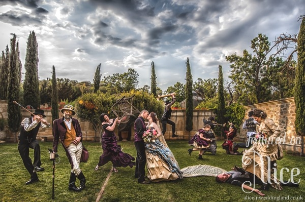 The worlds best Steampunk wedding