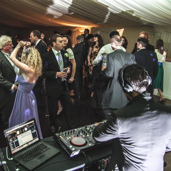 Decks Beats And Wedding Elegance