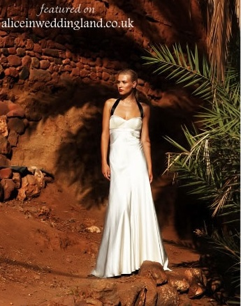 Empire line gown pear shape