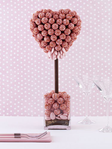 Chocolate trees from Harrods