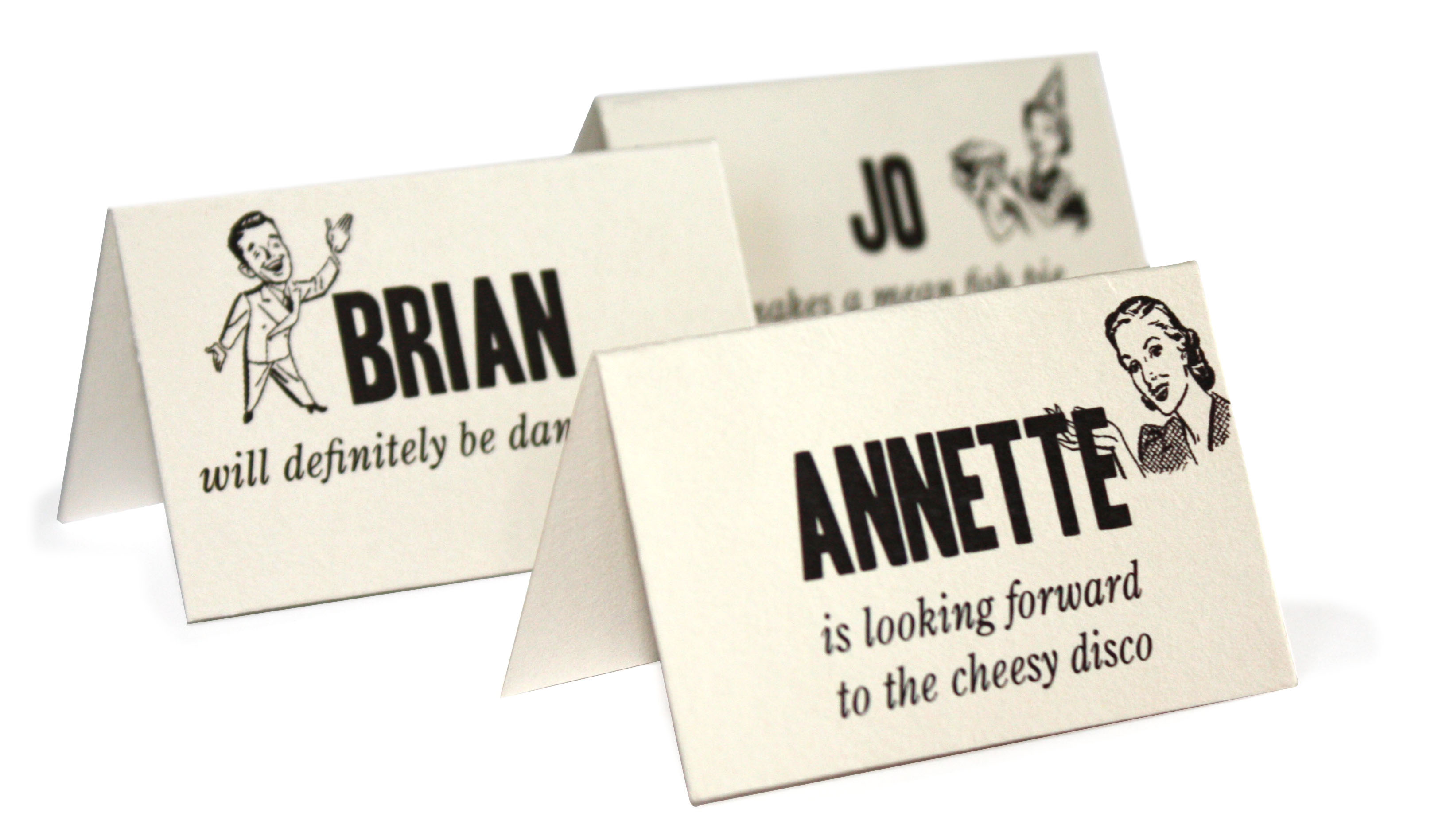 Name Card: Your Wedding Table: How To Pick Your Table Names