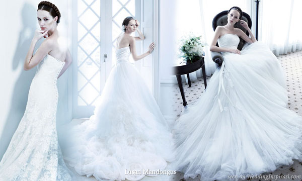 Simply Divine – Lusan Mandongus Wedding Dresses 2011