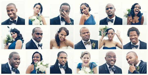 Wedding Photography Idea: Passport Style