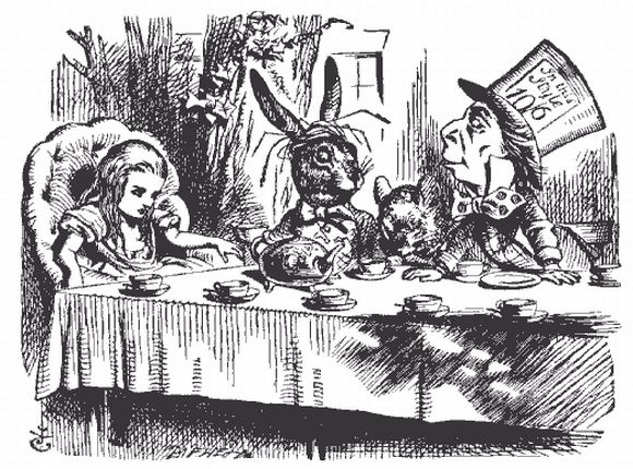 Alice in Wonderland Tea Party: Re-written by You