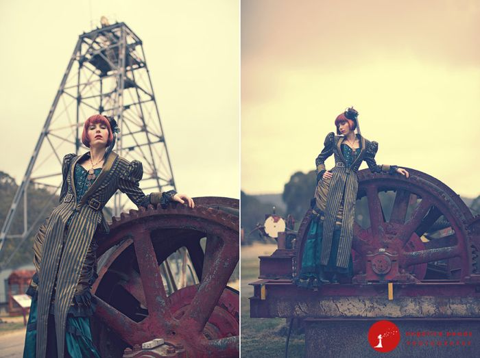 how decorate steampunk wedding