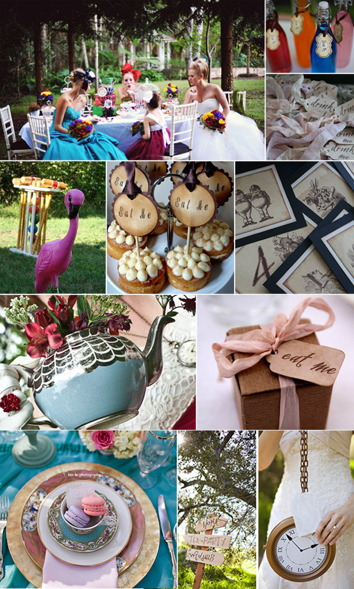 Inspiration Board: Alice in Wonderland
