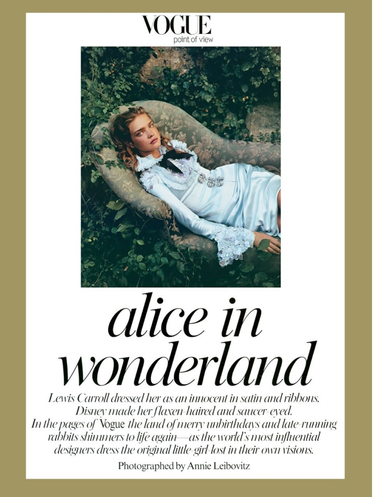 Alice In Wonderland by Vogue Magazine