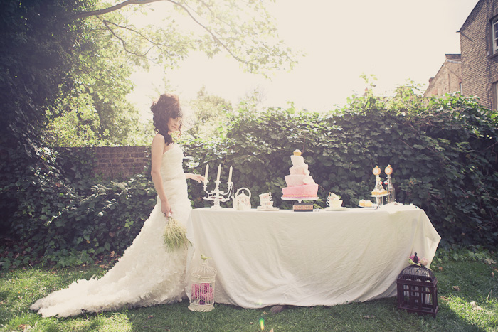 Alice In Wonderland inspired Wedding Shoot by Katherine Newman