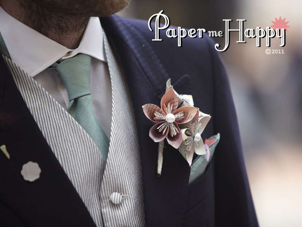 How To Make Wedding Buttonholes: Big Day Buttonholes: Not Just A Pretty Flower