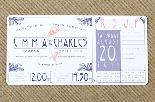 Vintage wedding invitations by vintage designs the invitation stopboris Images