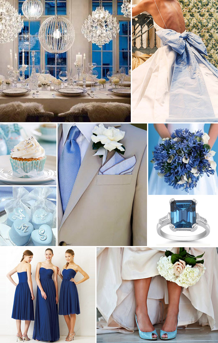 Inspiration Board: Beautiful blues