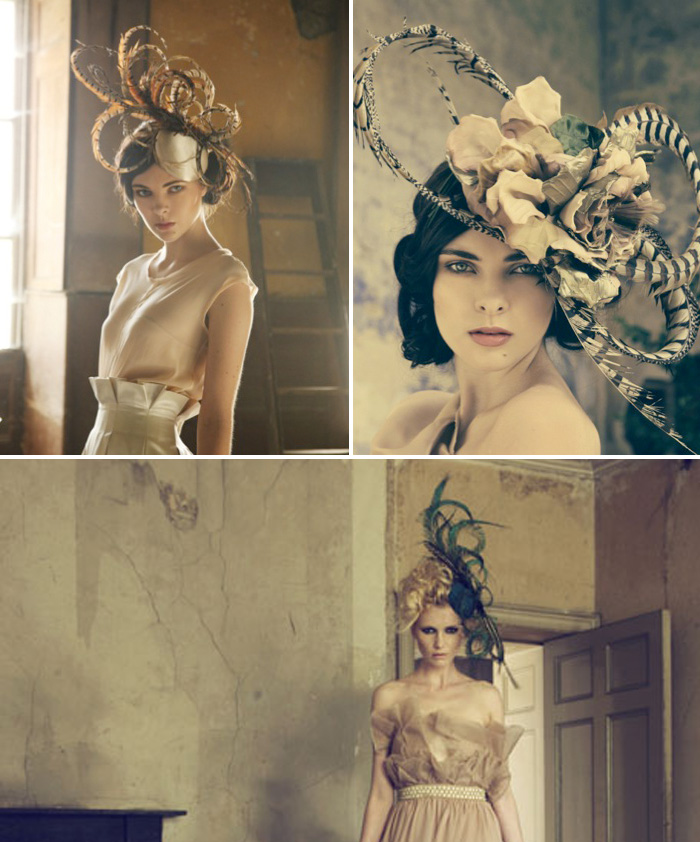 Jane Taylor 31 Stunning bespoke bridal headpieces by Jane Taylor Millinery