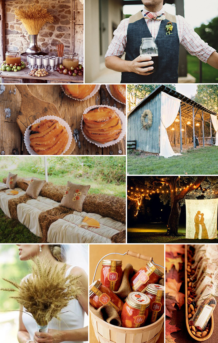Inspiration Board: Country Rustic