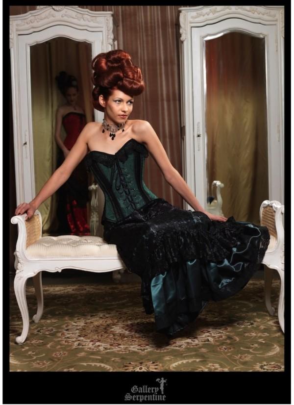 Bridal corsets and alternative wedding dresses gothic for Alternative to wearing a wedding dress
