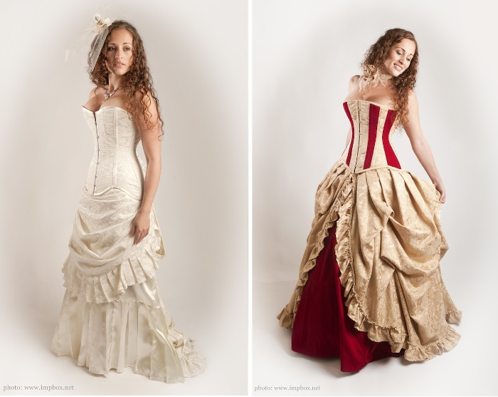 Bridal corsets and alternative wedding dresses - Part 2