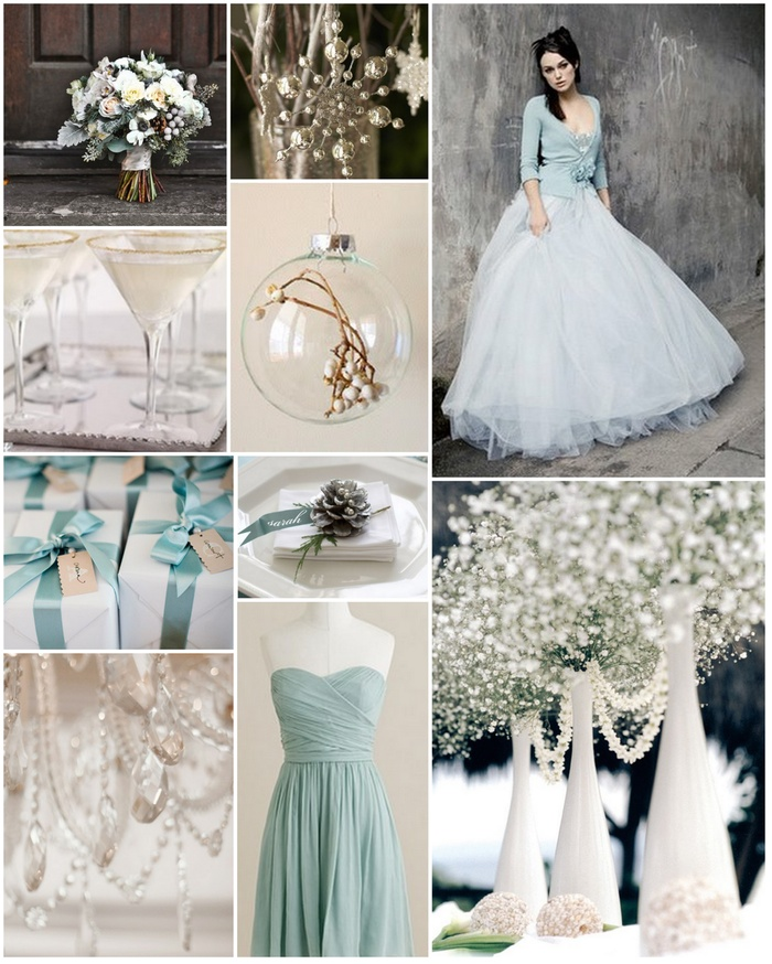 Winter Wonderland Mood Board by Wedding Planner Stacey-Marie Chalk