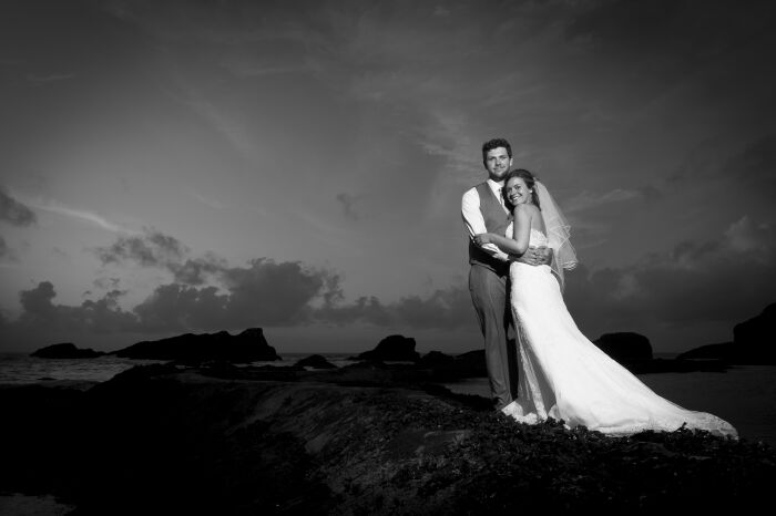 A cave wedding at Tunnels Beach:  Magical Moments 2011