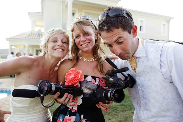 Wedding videography by Shoot-It-Yourself