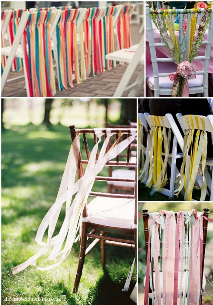 Getting Creative With Your Wedding Chairs Alice In