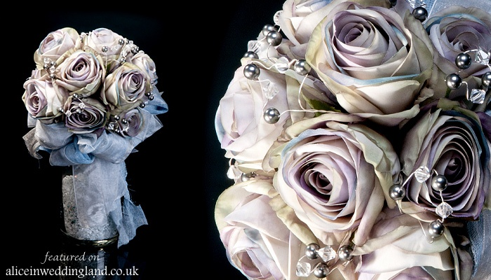 Alternative wedding bouquets LittleBouquetShop AIW wedding blog07 Nontraditional bridal bouquets: gothic elegance by The Little Bouquet Shop Wedding Blog