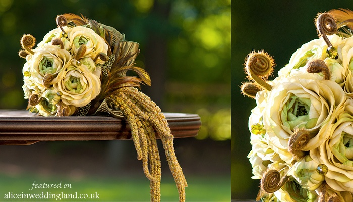 Alternative wedding bouquets-bridal floristry-alternative wedding blog - unique wedding ideas