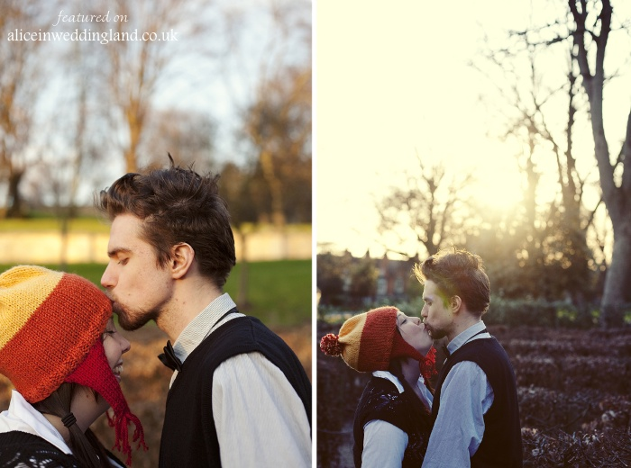 Engagement photo ideas:  Benji & Fiona's Indie Rom Com engagement shoot