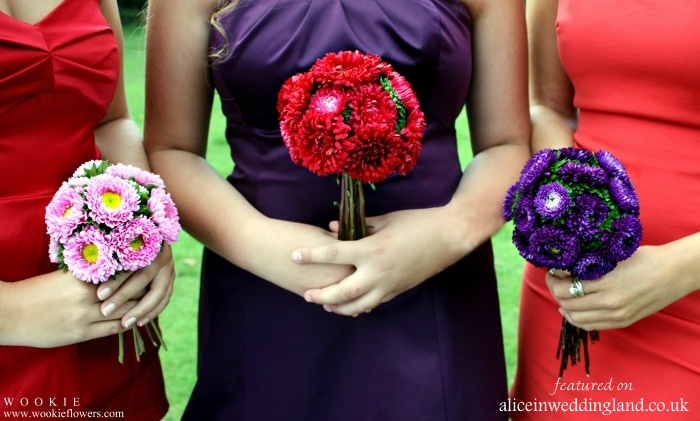 Unique Bridal Flower Bouquets : Alternative unique bridal bouquets and wedding flowers