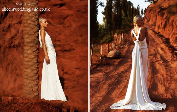 Unique wedding gown: showcasing designer Amanda Wakeley