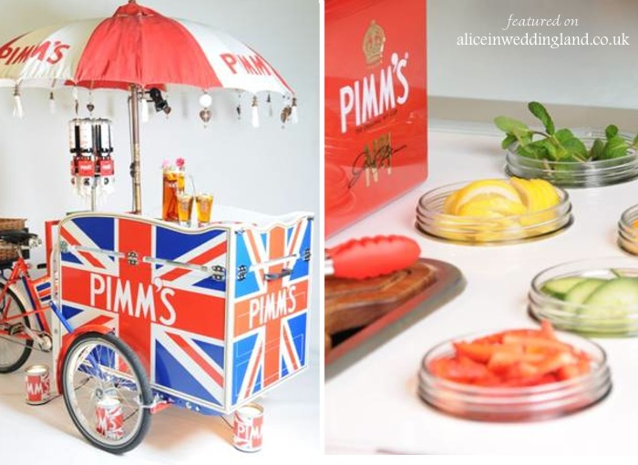 Tricycles take on the wedding industry: unique wedding reception ideas