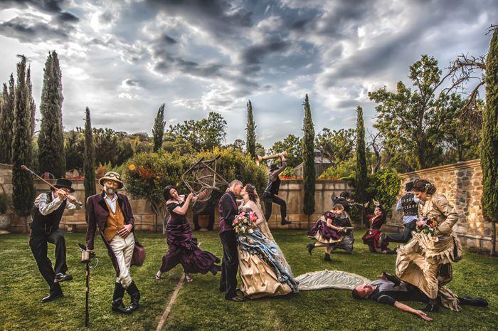 Steampunk wedding by B Captured