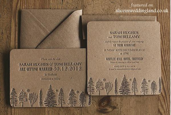 Wedding Invites Letterpress: Unique Letterpress Wedding Invitations: A Touchy-feely Art