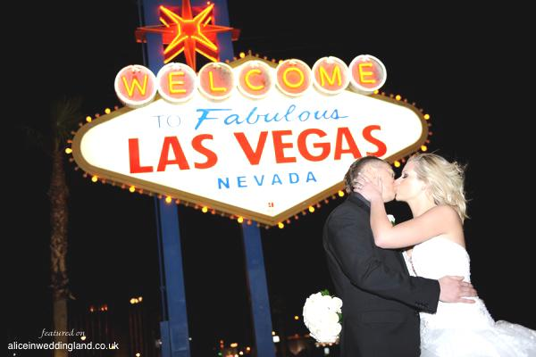 Real wedding: Alison and Scotts Vegas fairytale