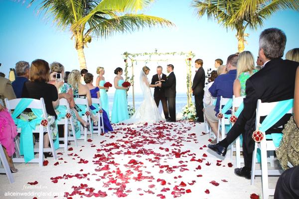 Real wedding: A destination affair in Florida Keys