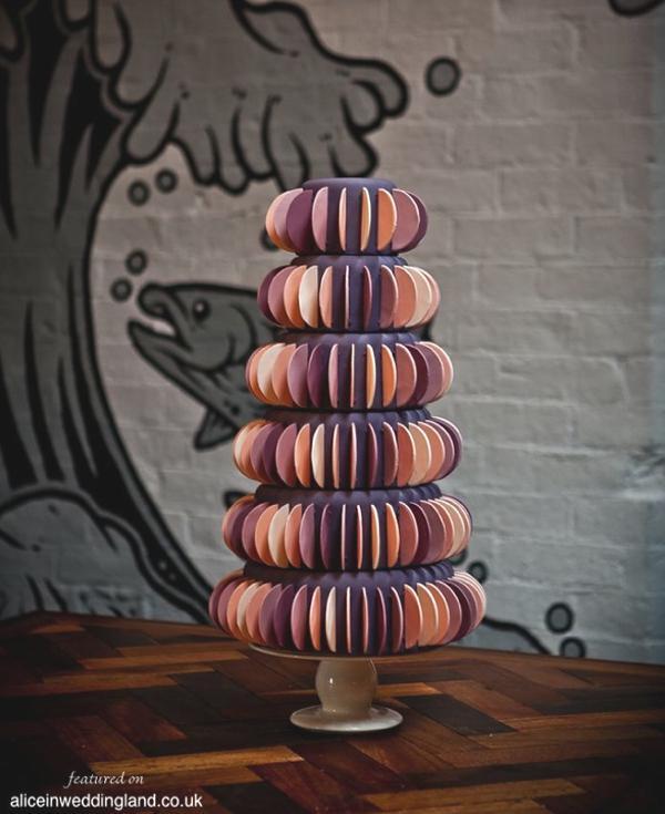 Unique wedding cakes by Claire Kemp Alice In Weddingland Wedding Blog