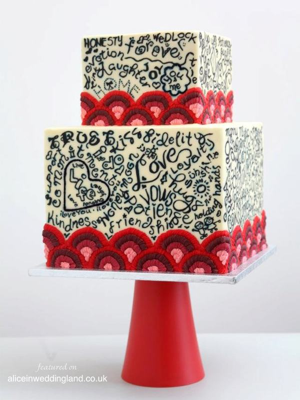 Queen Of Hearts Cake Couture