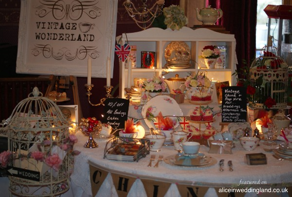 Alice Loves: Vintage Wonderland china, crockery and prop hire