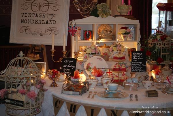 Alice Loves: Vintage Wonderland china, crockery and prop hire