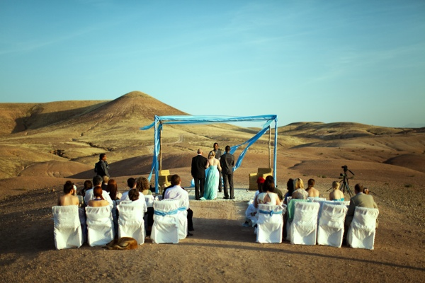 Real Wedding: Romance in the Moroccan Sands