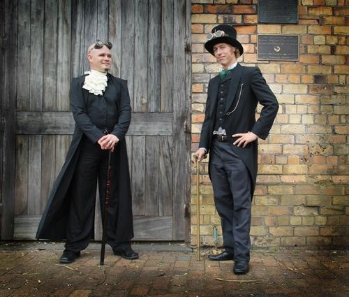 steampunk wedding AIW unique wedding blog 04 NZ Steampunk affair with a budget of $500NZ Wedding Blog