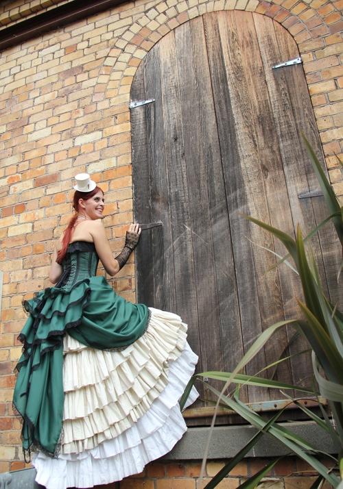 steampunk wedding AIW unique wedding blog 08 NZ Steampunk affair with a budget of $500NZ Wedding Blog