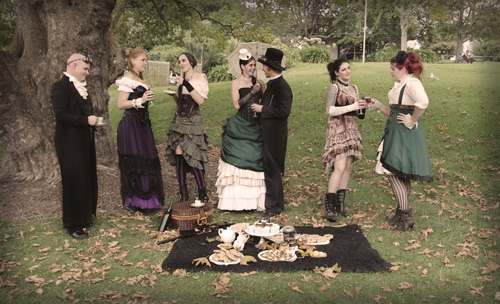 NZ Steampunk affair with a budget of $500NZ