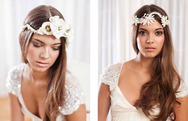 JannieBaltzer01 unique bridal headwear Unique bridal tiaras and headwear by Jannie Baltzer Wedding Blog