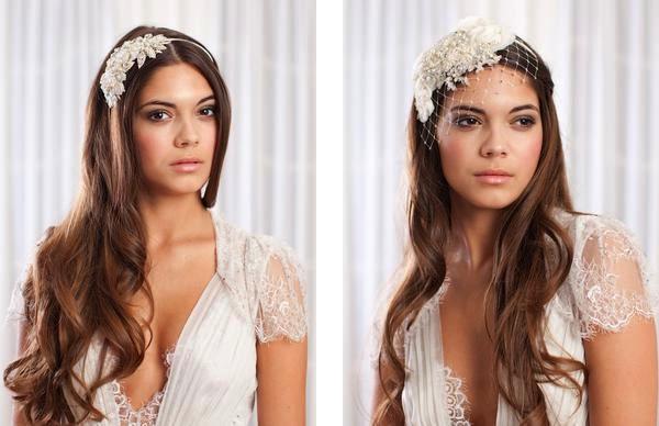 JannieBaltzer04 unique bridal headwear Unique bridal tiaras and headwear by Jannie Baltzer Wedding Blog