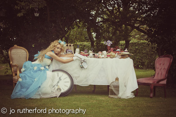 Alice in Wonderland Wedding inspired photo shoot