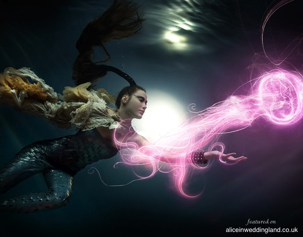 Underwater Photography: Creating magical imagery and an underwater Bride