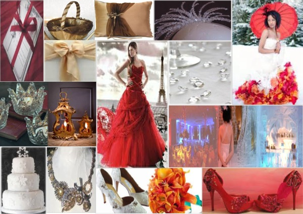 Mood Board Monday: Fire and Ice