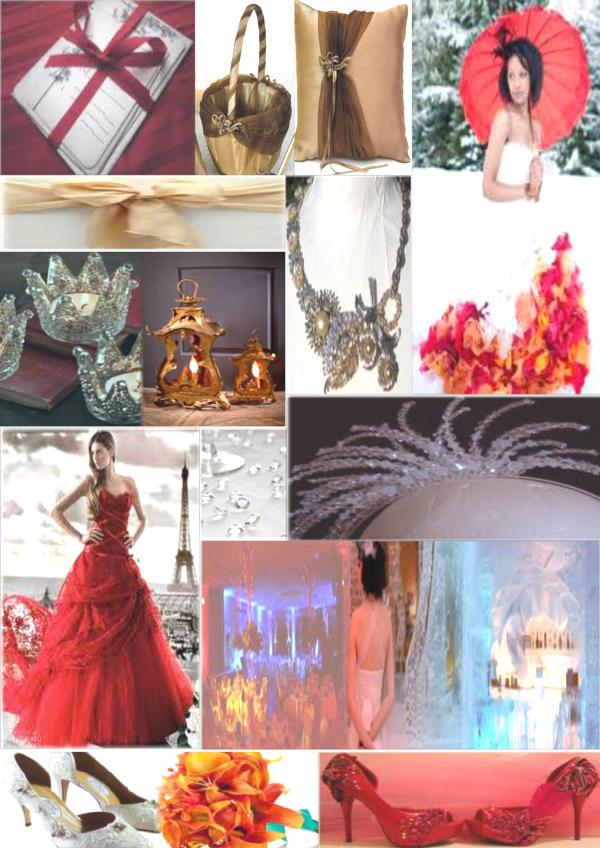 Mood Board Monday Fire And Ice Alice In Weddingland Wedding Blog
