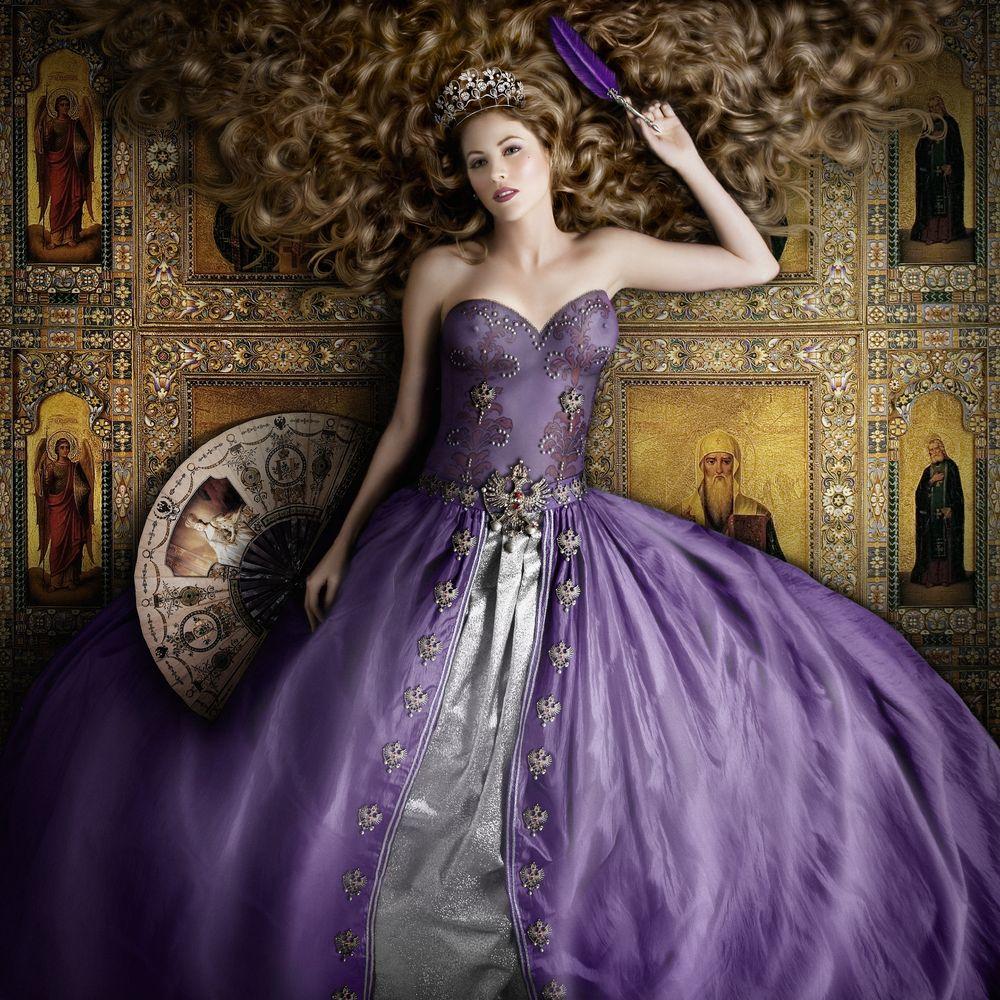 Saturday envogue photographer alexia sinclair and baroque fashion