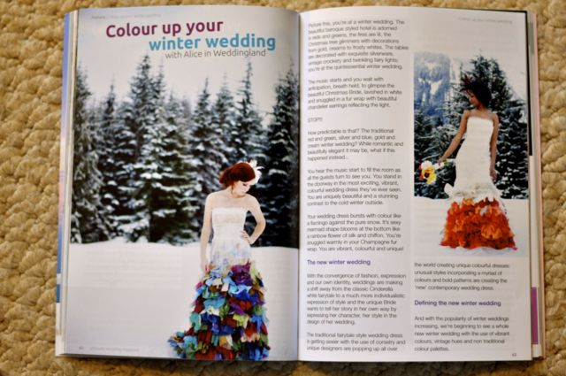 Ultimate Wedding Magazine: My feature article!